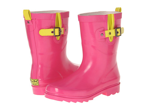 Western Chief Kids - Pop Solid Rainboot (Toddler/Little Kid/Big Kid) (Hot Pink) Girls Shoes