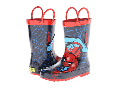 Western Chief Kids - Spider-Man Rainboot (Toddler/Little Kid/Big Kid) (Red) Boys Shoes