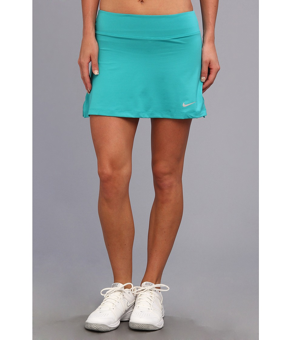 Nike - Straight Knit Skort (Turbo Green/Matte Silver) Women's Skort