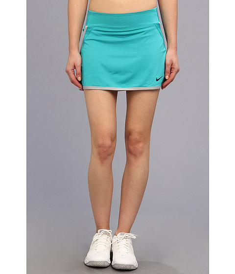Nike - Power Skirt (Turbo Green/Turbo Green/Base Grey/Black) Women