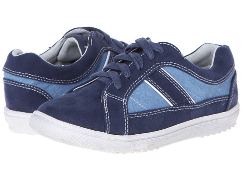 Cole Haan Kids - Anthony Lace Up (Toddler/Little Kid/Big Kid) (Navy/Denim) Boy's Shoes