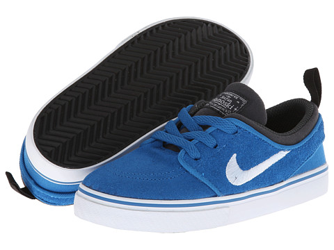 Nike SB Kids - Stefan Janoski (Infant/Toddler) (Military Blue/Anthracite/Black/White) Boys Shoes