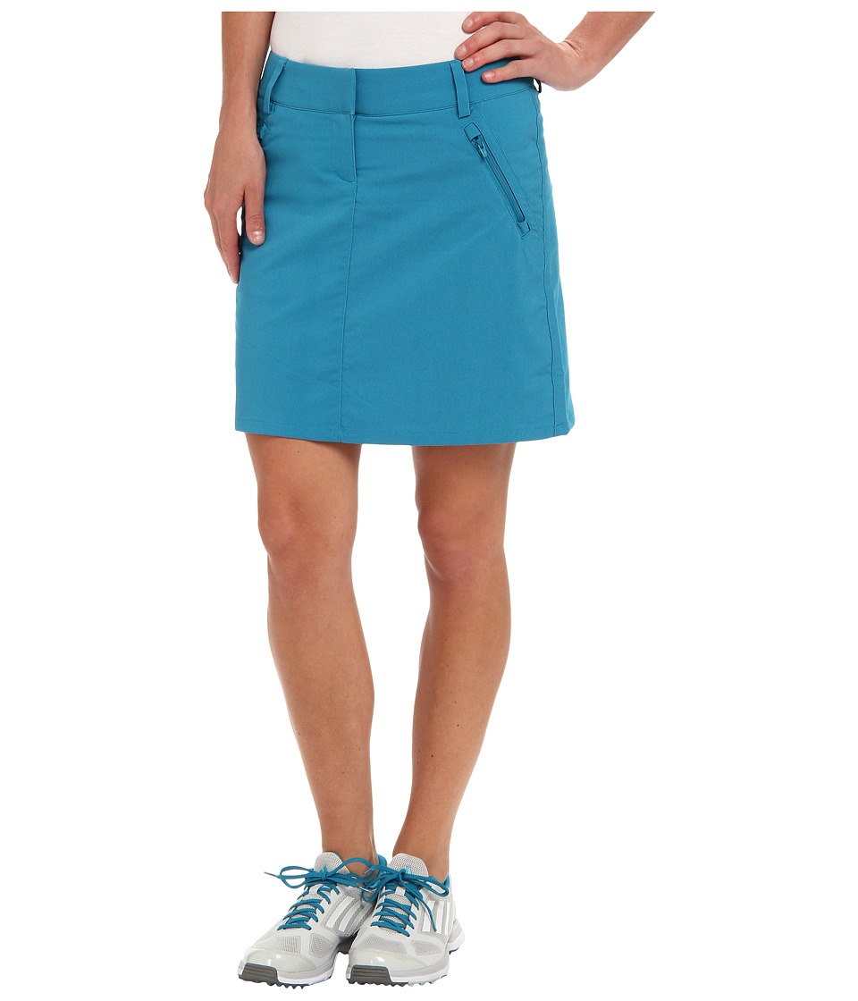 adidas Golf - CLIMACOOL Pocket Skort ' 14 (Teal/White) Women's Skort