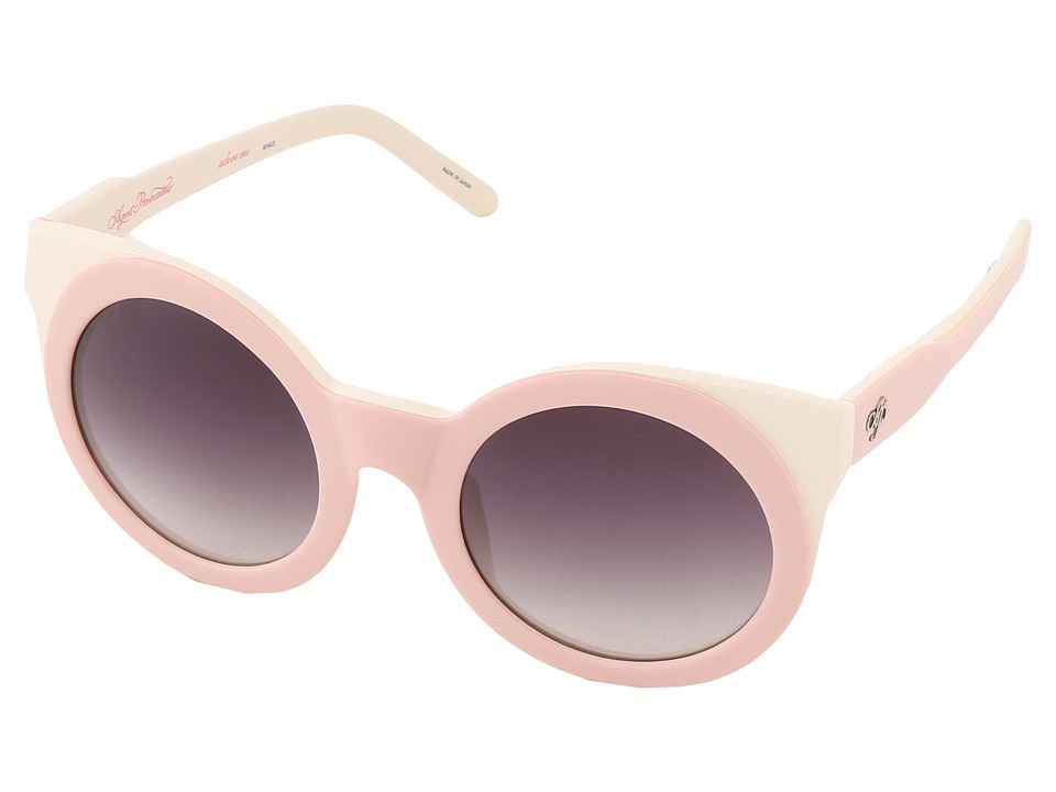 Agent Provocateur - Adore Me (Pink/Cream) Plastic Frame Fashion Sunglasses
