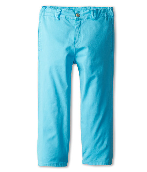 Oscar de la Renta Childrenswear - Poplin Chino (Toddler/Little Kids/Big Kids) (Turquoise) Boy's Casual Pants