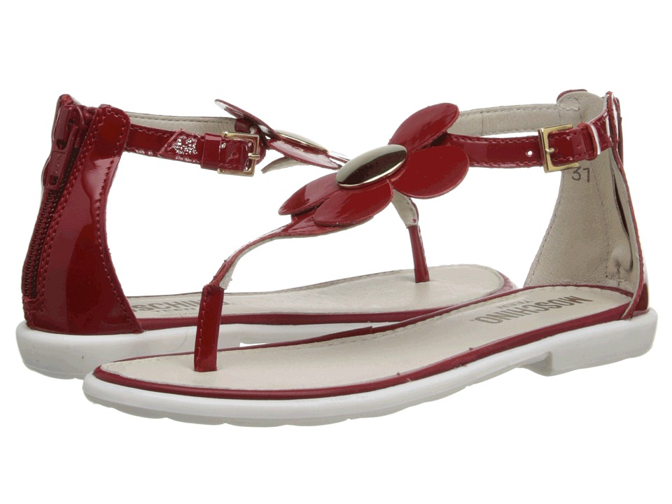 Moschino - 25481 (Little Kid/Big Kid) (Red) Women's Sandals