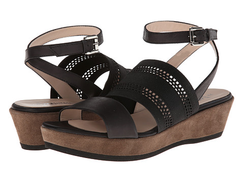 Aquatalia - Banjo (Black Combo) Women's Sandals