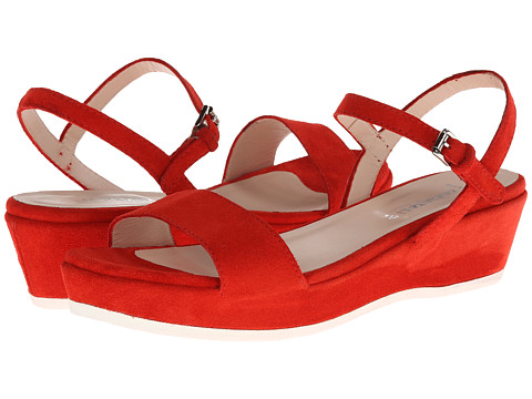 Aquatalia - Bea (Red Suede) Women