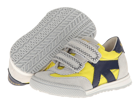 Moschino - 25446 (Toddler/Little Kid) (Yellow Multi) Men's Hook and Loop Shoes