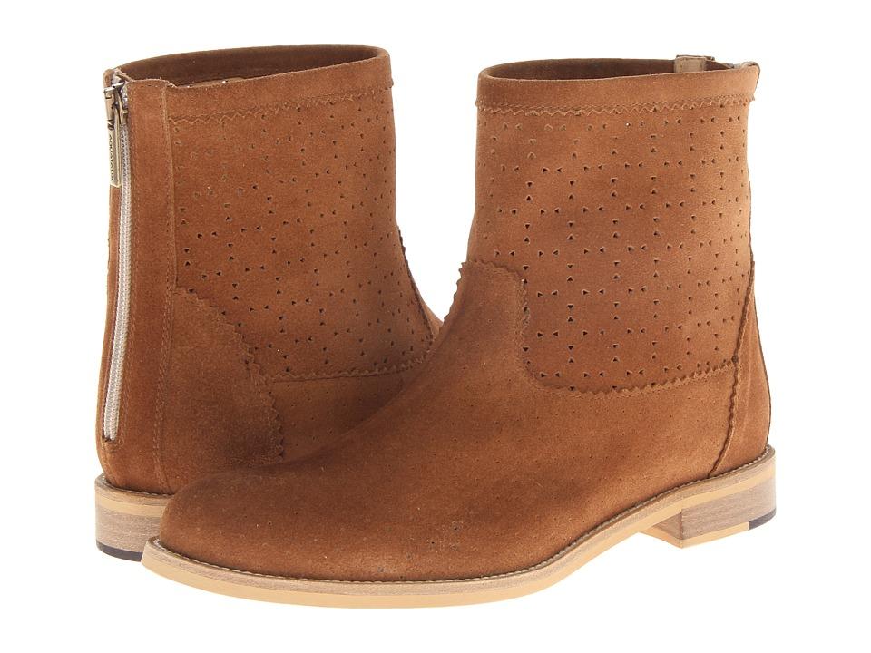 Aquatalia - Doppel (Bark Suede) Women's Boots