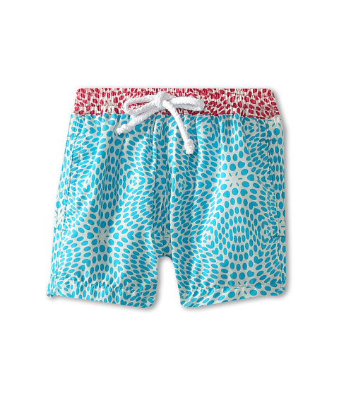 Oscar de la Renta Childrenswear - Kaleidoscope Swim Shorts (Infant) (Turquoise) Boy's Swimwear