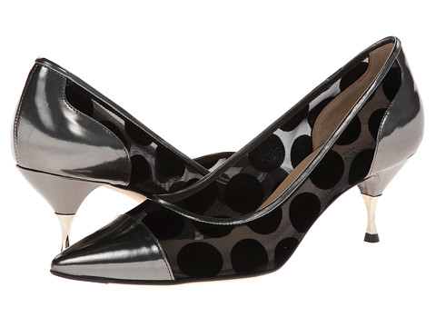 Aquatalia - Izzy (Graphite Dot Combo) High Heels