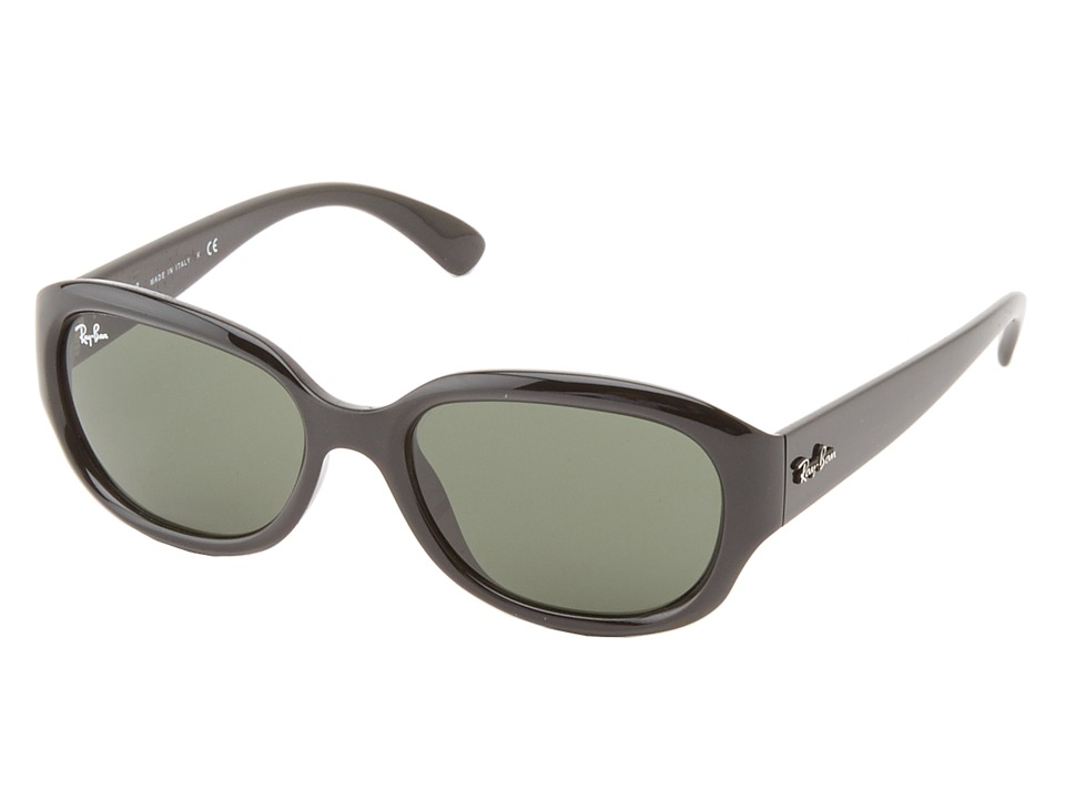 Ray-Ban - RB4198 55mm (Black) Fashion Sunglasses