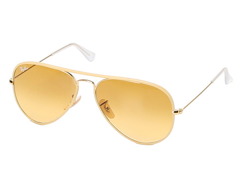 Ray-Ban - RB3025 Aviator 58mm (Yellow) Fashion Sunglasses