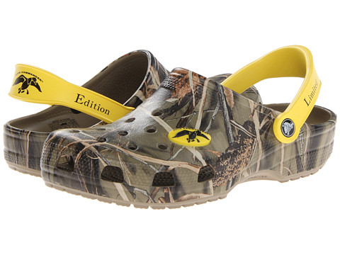 Crocs - Classic Duck Commander Realtree (Khaki) Clog Shoes