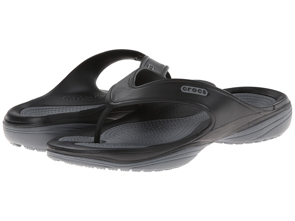 Crocs - Modi 2 Flip (Black/Charcoal) Sandals