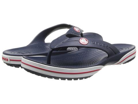 Crocs - Crocband X Flip (Navy) Sandals