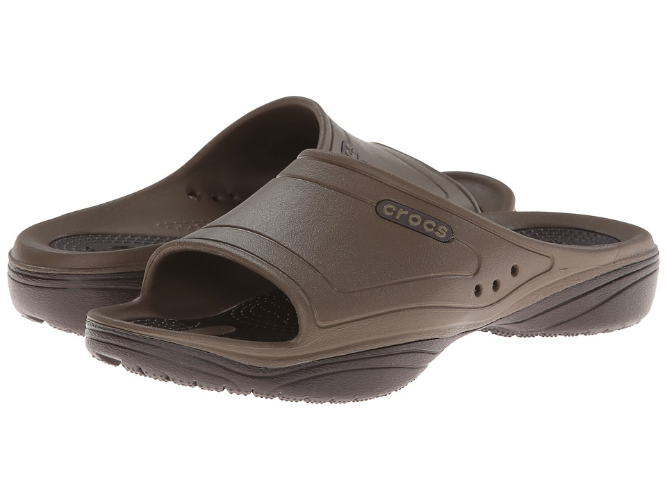 Crocs - Modi 2 Slide (Walnut/Espresso) Shoes