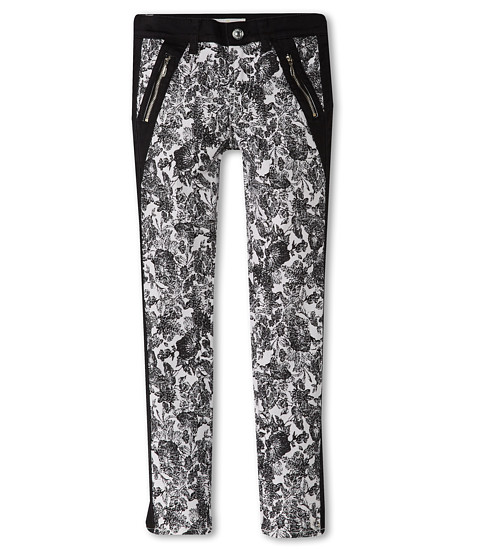 7 For All Mankind Kids - The Skinny Jean in Etched Floral (Big Kids) (Etched Floral) Girl's Jeans
