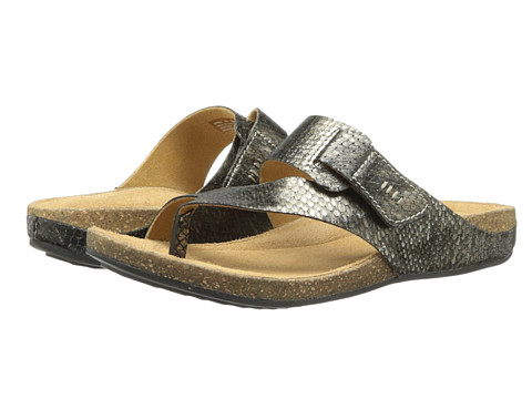 5c14355dc UPC 889303149766 product image for Clarks Perri Coast (Pewter Metallic  Snake) Women s Shoes ...