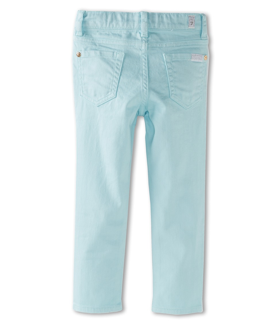 7 For All Mankind Kids - The Skinny Jean in Clear Water (Big Kids) (Clear Water) Girl's Jeans