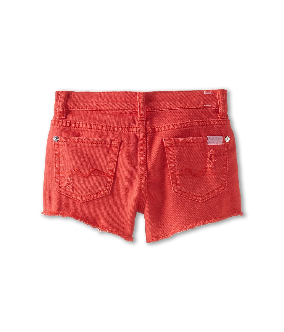 7 For All Mankind Kids - Short in Bitter Sweet (Little Kids) (Bitter Sweet) Girl's Shorts