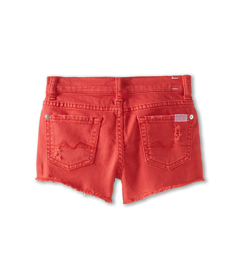7 For All Mankind Kids - Short in Bitter Sweet (Little Kids) (Bitter Sweet) Girl