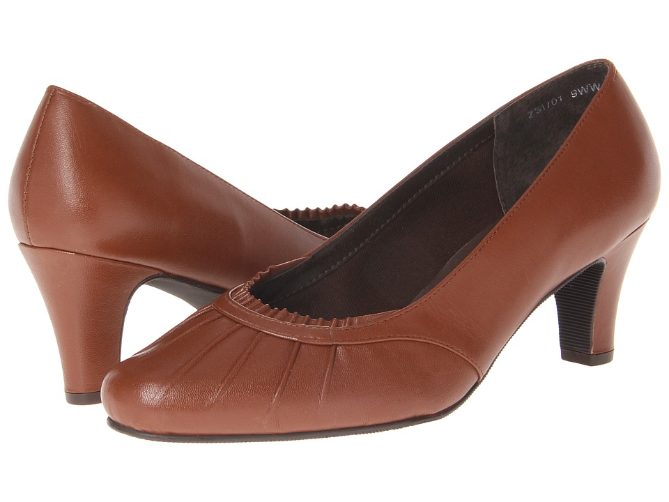 Fitzwell - Captain (Dark Tan Kid) Women's Shoes