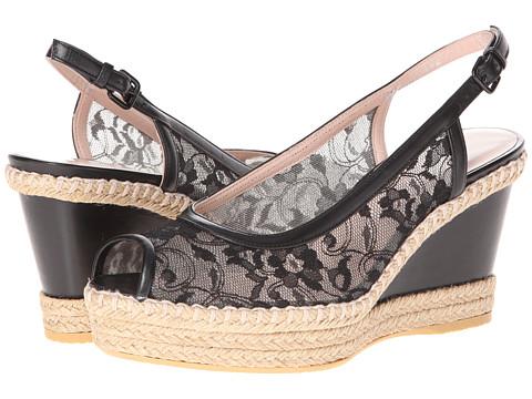 Stuart Weitzman - Tuileries (Black Guipure Lace) Women's Shoes
