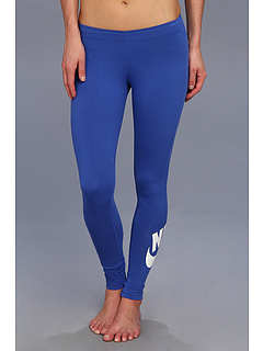 SALE! $21.99 - Save $23 on Nike Leg A See Logo Legging (Varsity Royal White) Apparel - 51.13% OFF $45.00