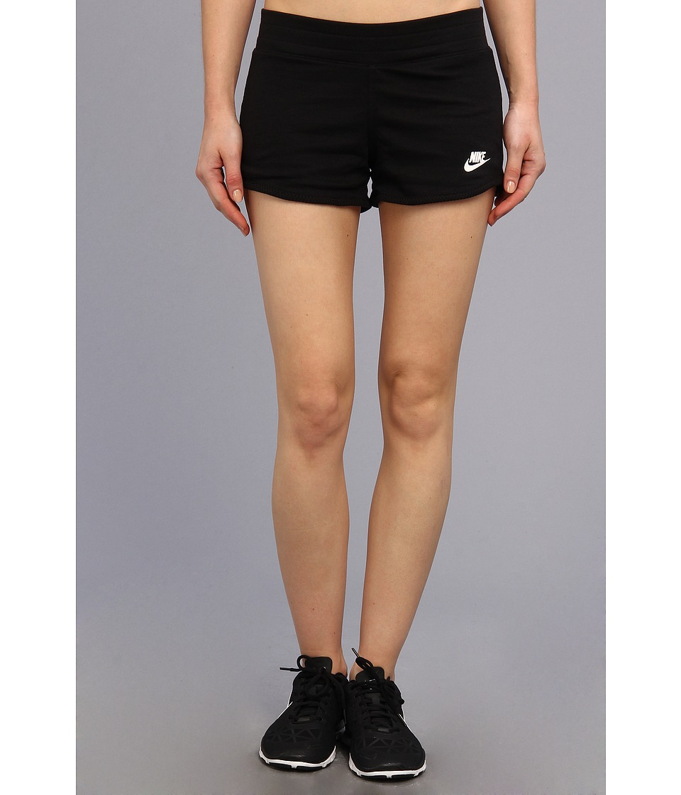 Nike - Three-D Short (Black/White) Women's Shorts