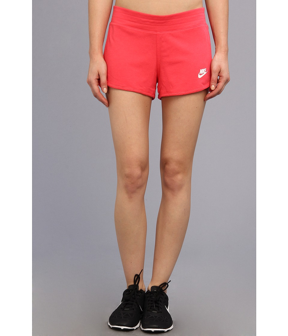 Nike - Three-D Short (Geranium/White) Women's Shorts