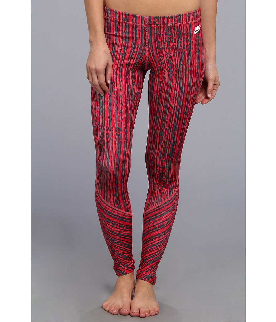 Nike - RU Sunset Print Legging (Geranium/Dark Grey/Legion Red) Women's Casual Pants