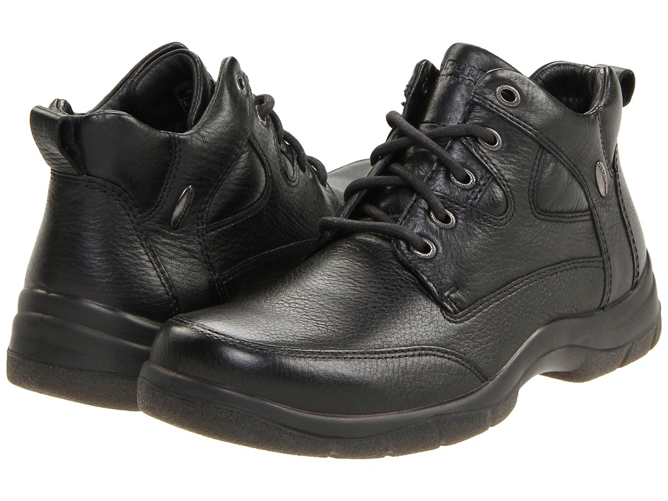 Hush Puppies - Endurance (Black Leather) Men's Waterproof Boots