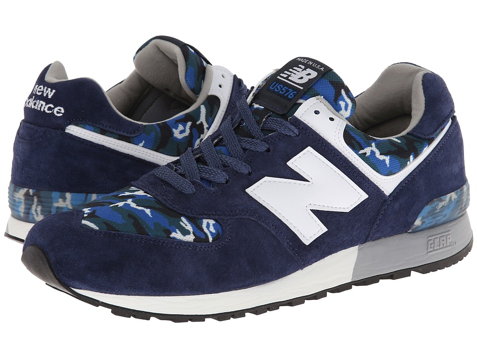New Balance Classics - ML576-Camo Pack (Navy) Men's Classic Shoes