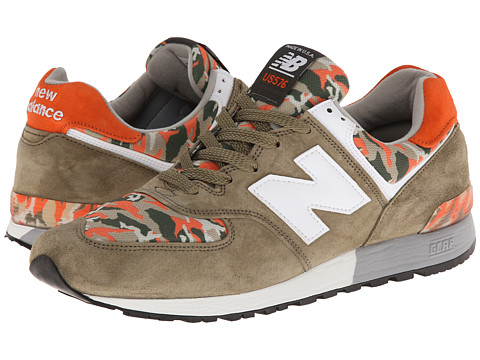 New Balance Classics - ML576-Camo Pack (Olive Green) Men's Classic Shoes