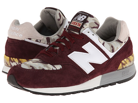 New Balance Classics - ML576-Camo Pack (Burgundy) Men's Classic Shoes