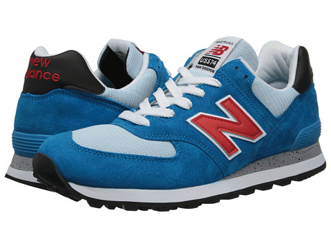 New Balance Classics - US574 - Made in USA (Blue Infinity) Men