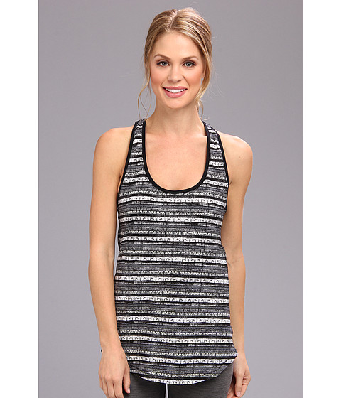 Nike - Prep Tank - AOP (Black) Women's Sleeveless