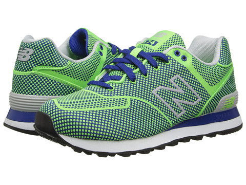 New Balance Classics - ML574-Woven Pack (Green) Men's Classic Shoes