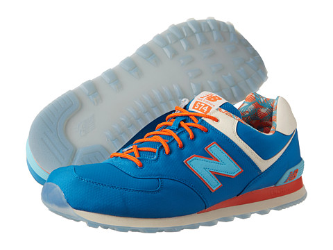 New Balance Classics - ML574-Island Pack (Blue) Men's Classic Shoes