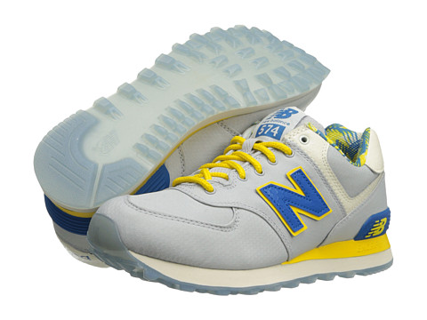 New Balance Classics - ML574-Island Pack (Grey) Men