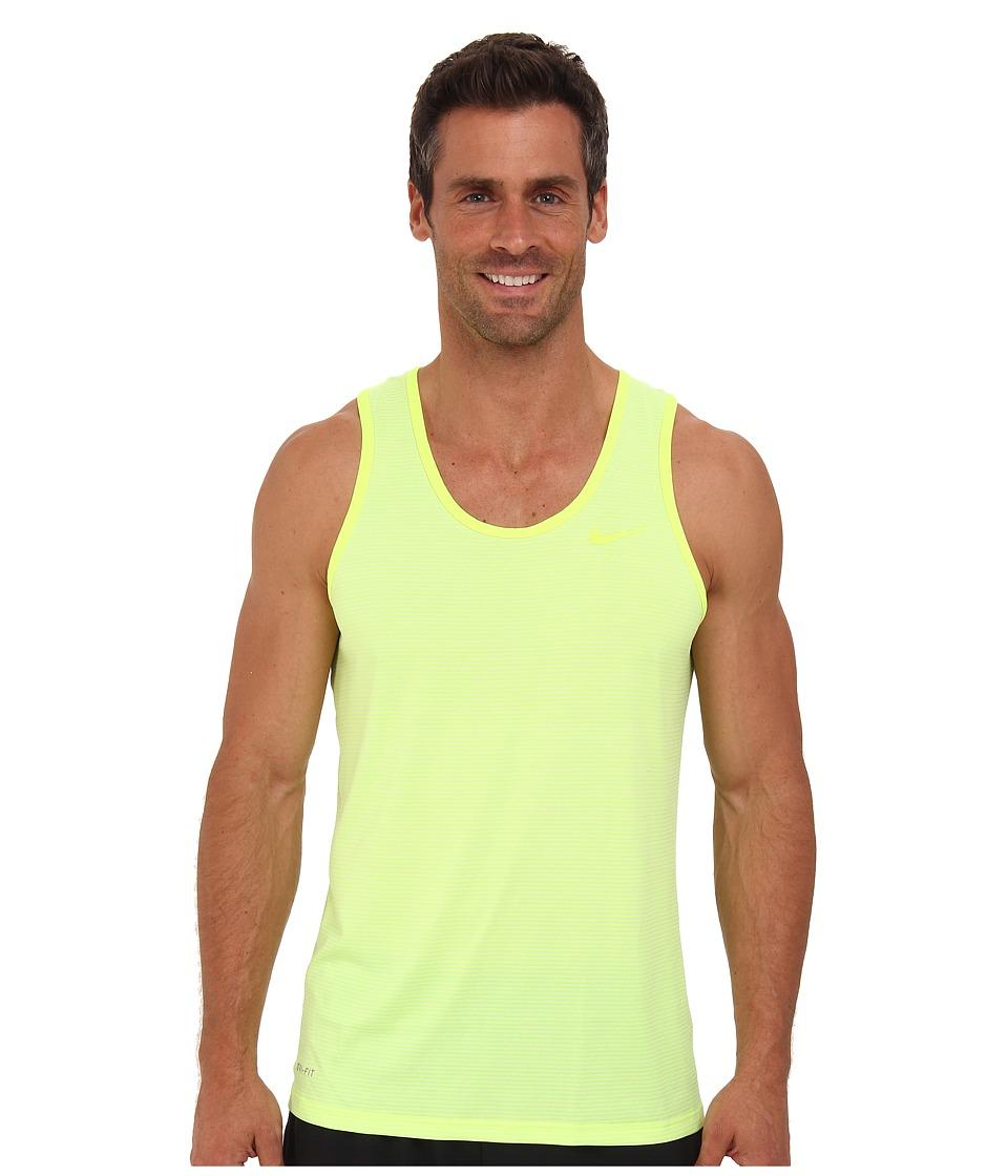 Nike - Dri-Fit Touch Tank (Volt/Venom Green) Men