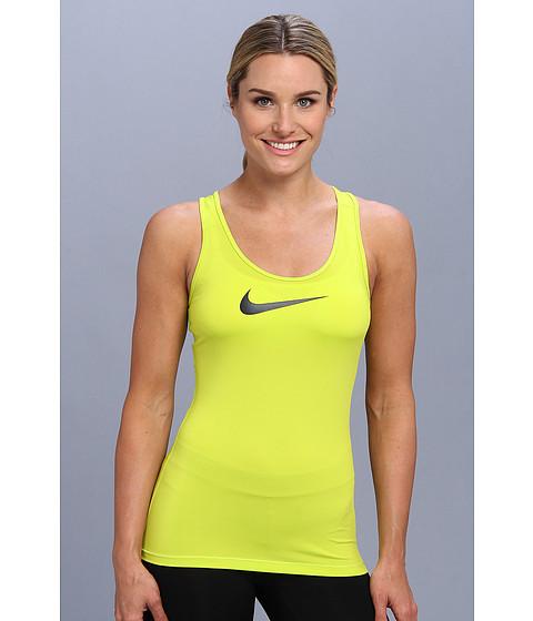 Nike - Pro Tank (Venom Green/Obsidian) Women