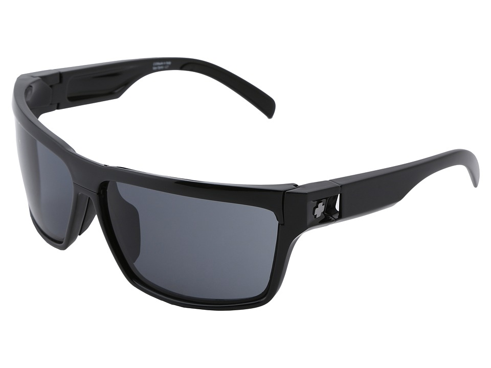 Spy Optic - Cutter (Black/Grey/Yellow) Sport Sunglasses