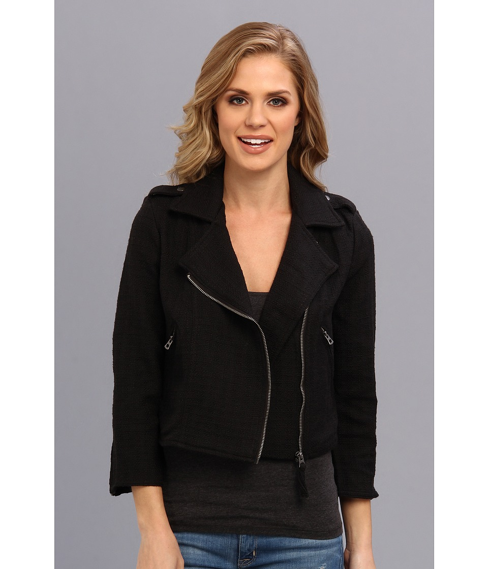 Lucky Brand - Temera Moto Jacket (Lucky Black) Women's Jacket