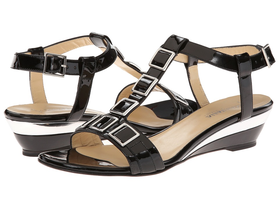 Aquatalia - Nella (Black Patent) Women