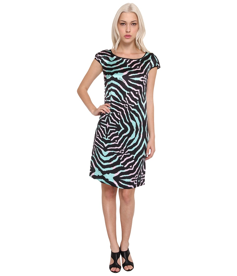 Just Cavalli - S04CT0233N36695 (Black) Women's Dress