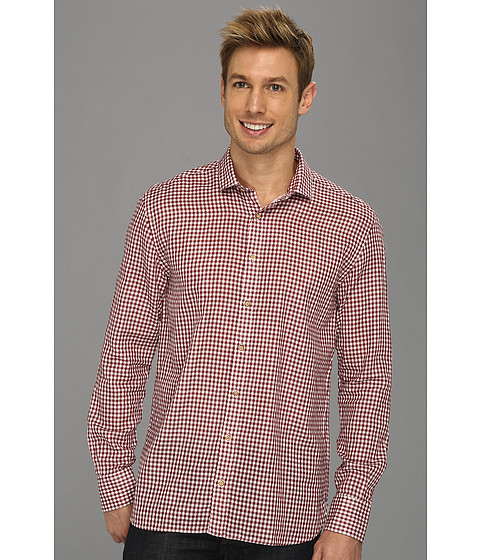 Scott James - Donald L/S Shirt (Wine) Men