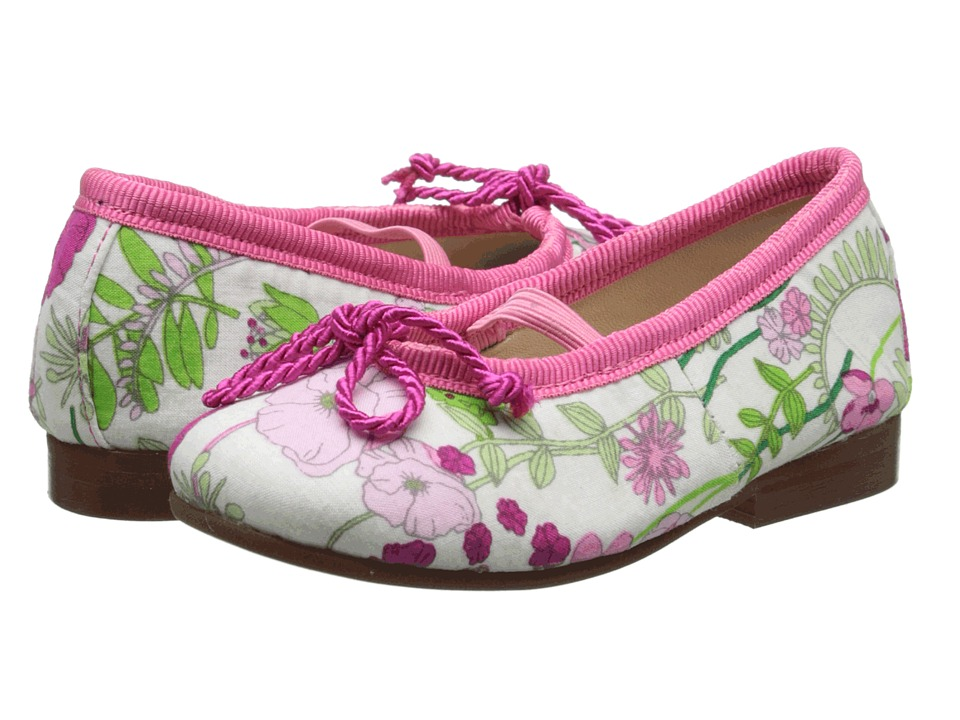 Oscar de la Renta Childrenswear - Baby Evora Sabrinas (Toddler/Little Kid) (Hot Pink Kelly) Girls Shoes